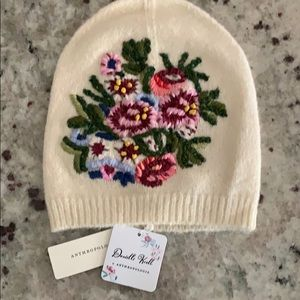 Anthropologie beanie by Danielle Kroll